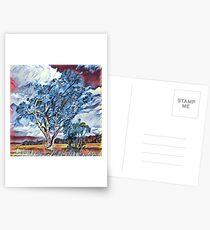 Australian Windswept Tree 02 Postcards