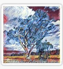 Australian Windswept Tree 02 Sticker