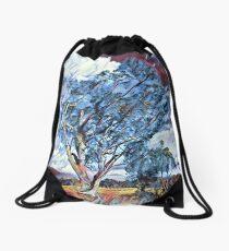 Australian Windswept Tree 02 Drawstring Bag