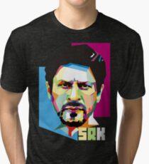 Shahrukh Khan Tshirt Tri-blend T-Shirt