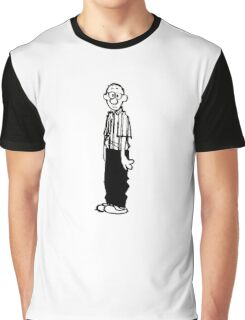 Calvin and Hobbes- Calvin's Dad Graphic T-Shirt