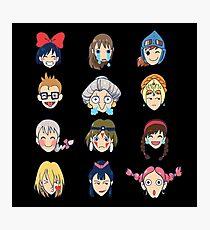 Ghibli Emotions Photographic Print