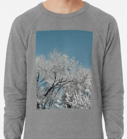 Weiße Landschaft Leichter Pullover