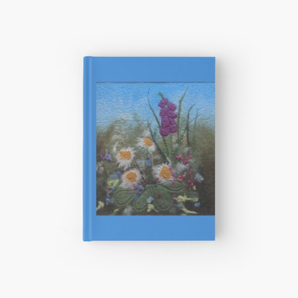 Summer Flowers Hardcover Journal