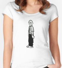 Calvin and Hobbes- Calvin's Dad Women's Fitted Scoop T-Shirt