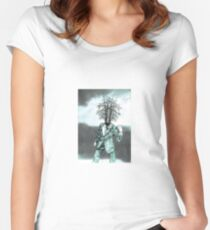Semyon Semyonovich, pinetree man, kharms inspired Women's Fitted Scoop T-Shirt