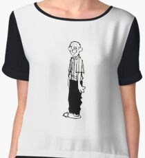 Calvin and Hobbes- Calvin's Dad Women's Chiffon Top