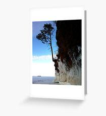 Ice Cliffs, Apostle Islands  Greeting Card