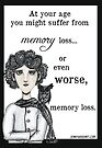 Memory loss by Jenny Wood