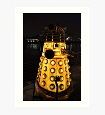 A Dalek (Exterminate!) Art Print