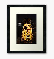 A Dalek (Exterminate!) Framed Print