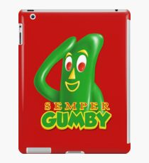 Semper Gumby iPad Case/Skin