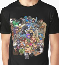 Clash Universe Graphic T-Shirt
