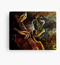 Jazz night Canvas Print