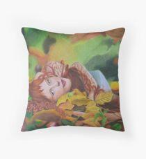 Aires de otoño Throw Pillow