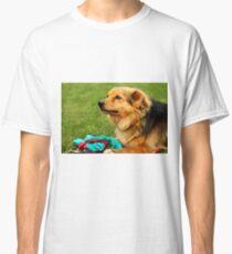 Playful Dog - Nature Photography Classic T-Shirt