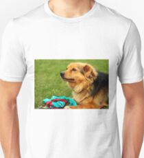 Playful Dog - Nature Photography Unisex T-Shirt