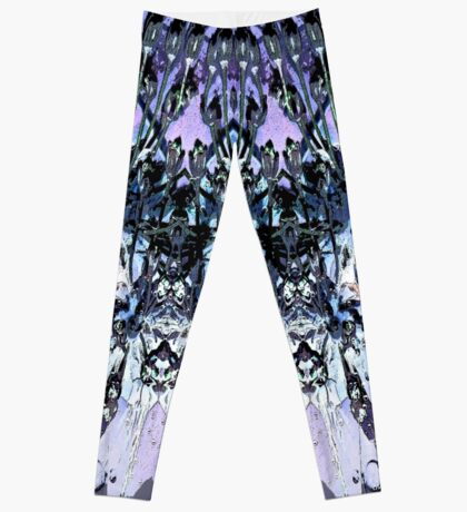 Abstract Floral Art  Leggings
