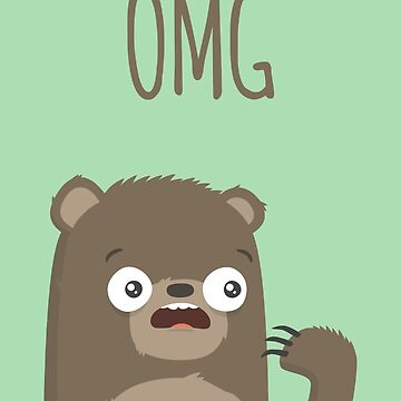 OMG (bear) - Card by imjustmike