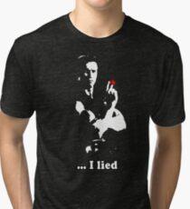 Commando - I lied Tri-blend T-Shirt