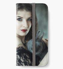 Bunny love iPhone Flip-Case/Hülle/Klebefolie