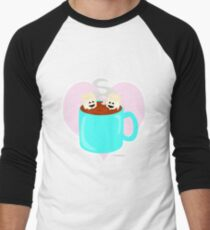 Hot Cocoa Love Men's Baseball ¾ T-Shirt