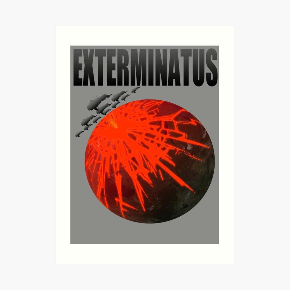 Título Exterminatus Lámina artística