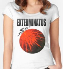 Exterminatus Title Fitted Scoop T-Shirt