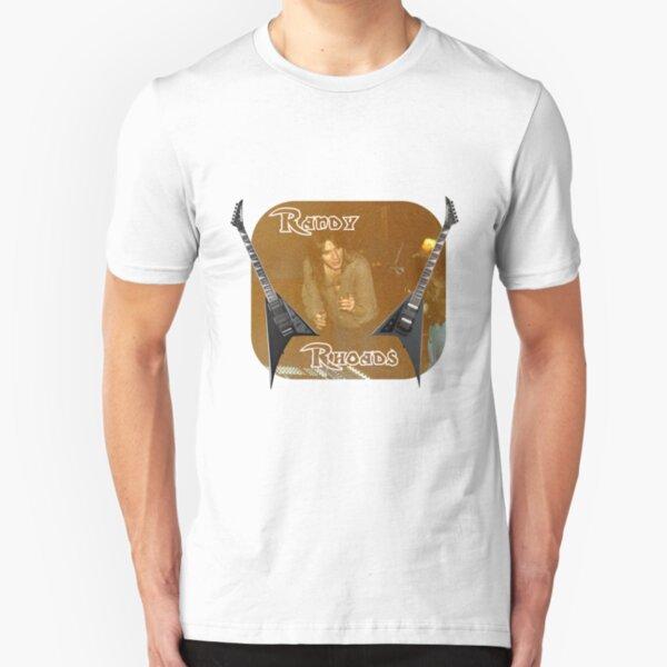 Randy Rhoades Slim Fit T-Shirt