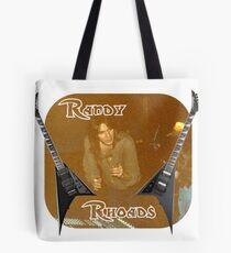 Randy Rhoades Tote Bag
