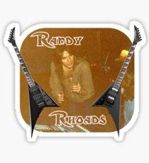 Randy Rhoades Glossy Sticker