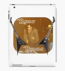 Randy Rhoades iPad Case/Skin