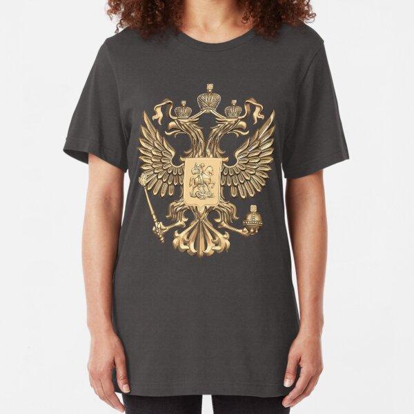 russian ornament t-shirt flag of Russia tee Hohloma print