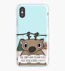 Dull-Nosed Reindeer iPhone Case/Skin