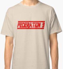 Federation 3 Font Classic T-Shirt