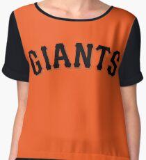 San Francisco Giants Women's Chiffon Top
