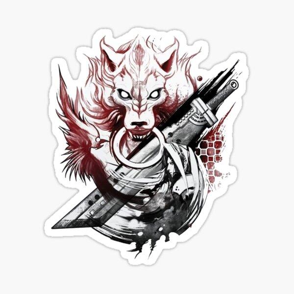 Amano Homage Final Fantasy Sticker