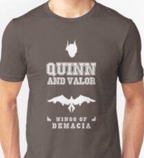 Quinn and Valor White T-Shirt