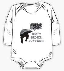 Honey Badger Takes What It Wants One Piece - Long Sleeve