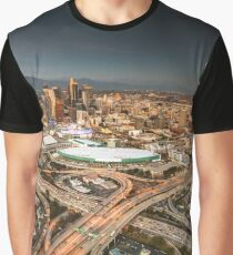 los angeles aerial view Graphic T-Shirt