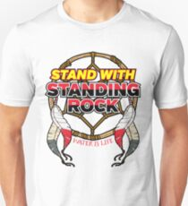 Stand with Standing Rock No Pipeline T-Shirt