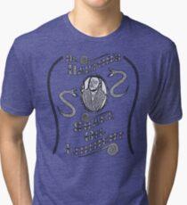 Dr. Barton's Snake Oil Liniment Tri-blend T-Shirt
