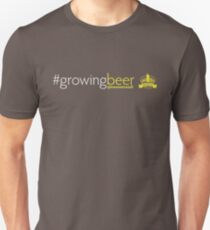 Growing Beer Light Text Unisex T-Shirt