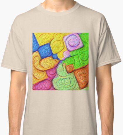 Asymmetry of color foam #DeepDream Classic T-Shirt