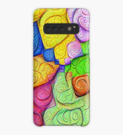 Asymmetry of color foam #DeepDream Case/Skin for Samsung Galaxy