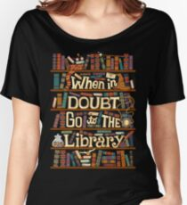 Go to the library Women's Relaxed Fit T-Shirt