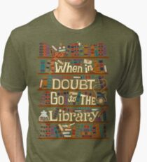 Go to the library Tri-blend T-Shirt