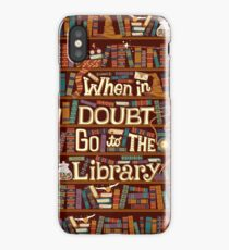 Go to the library iPhone Case/Skin