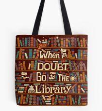 Bolsa de tela Ir a la biblioteca