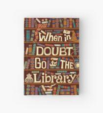 Cuaderno de tapa dura Ir a la biblioteca